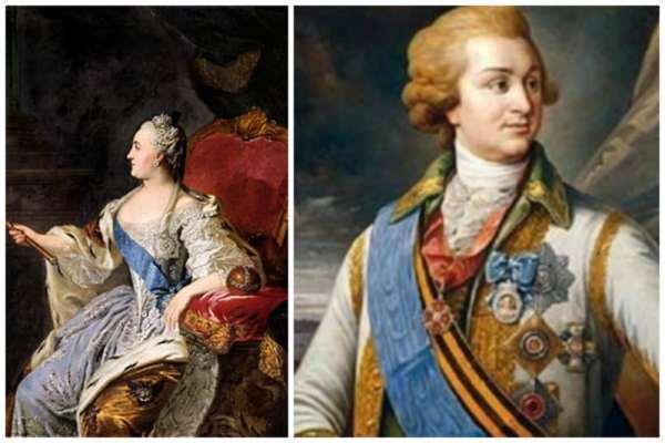 Фавориты-любовники русских Императриц, Екатерина II, Потёмкин, Орлов